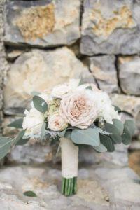 Cvetličarna Omers - šopek ročni roza