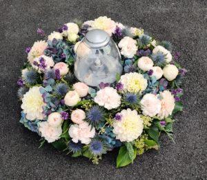 Cvetličarna Omers - venec sveča