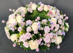 Cvetličarna Omers - roza venec1