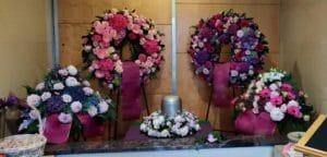 Cvetličarna Omers - vijola venec