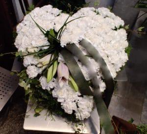 Cvetličarna Omers - belo srce