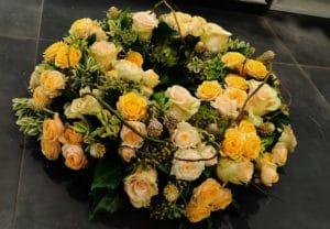 Cvetličarna Omers - ikebana rumena