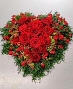 Cvetličarna Omers - srce rdeče