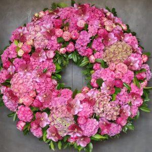 Cvetličarna Omers - venec roza
