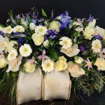 Cvetličarna Omers - belo modra