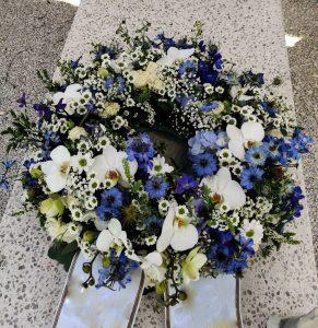 Cvetličarna Omers - žarni venček ostrožnik