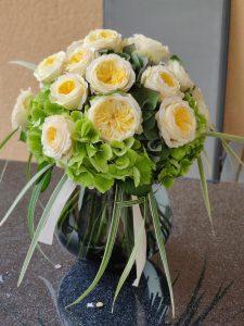 Cvetličarna Omers - šopek hortenzija4