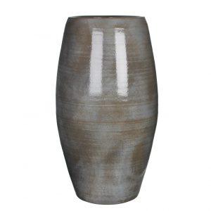 Cvetličarna Omers - Lester vase round d. grey - h70xd39cm (Lester vaza temno siv) 1002881