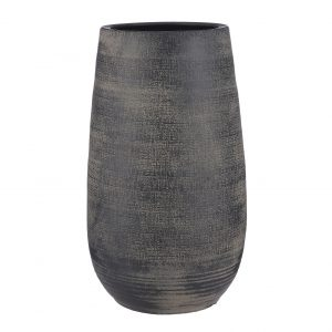 Cvetličarna Omers - Victor vase round d. brown - h50xd29cm (Victor vaza temno rjav) 1094690