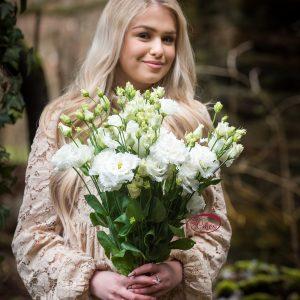 Cvetličarna Omers - šopek_lizianthus2