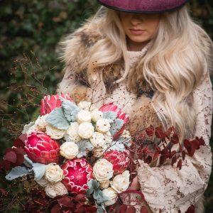 Cvetličarna Omers - šopek_protea2