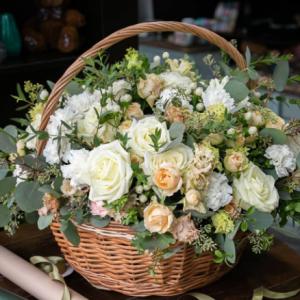 Cvetličarna Omers - cvetlična košara4